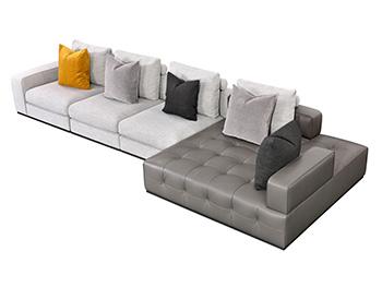 博领家居意式极简系列 沙发SS55308