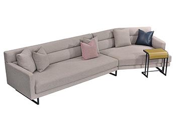 博领家居意式极简系列 沙发SS55329-0